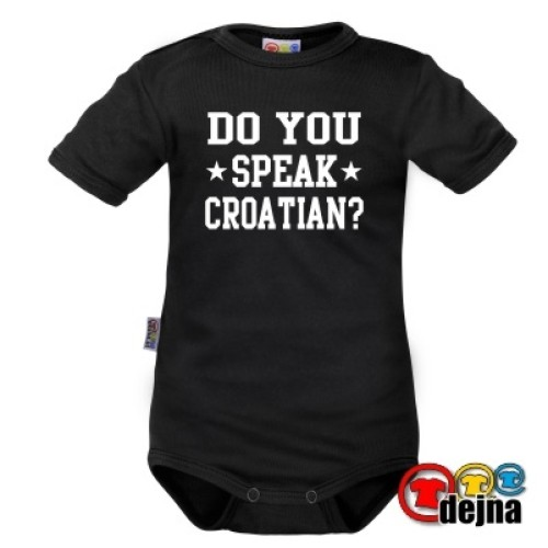 DO YOU SPEAK CROATIAN