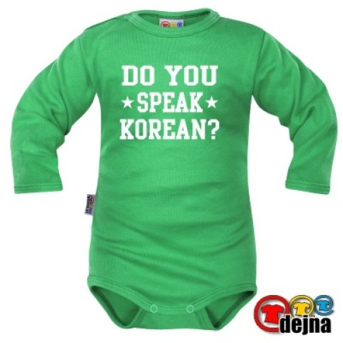 DO YOU SPEAK KOREAN