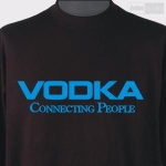 VODKA CONNECTING PEOPLE (czarna)